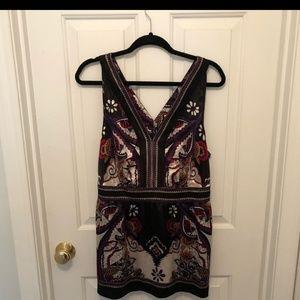 Beautiful silken sleeveless blouse